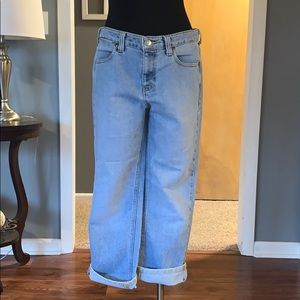 Tommy Hilfiger hipster woman light wash jeans 8